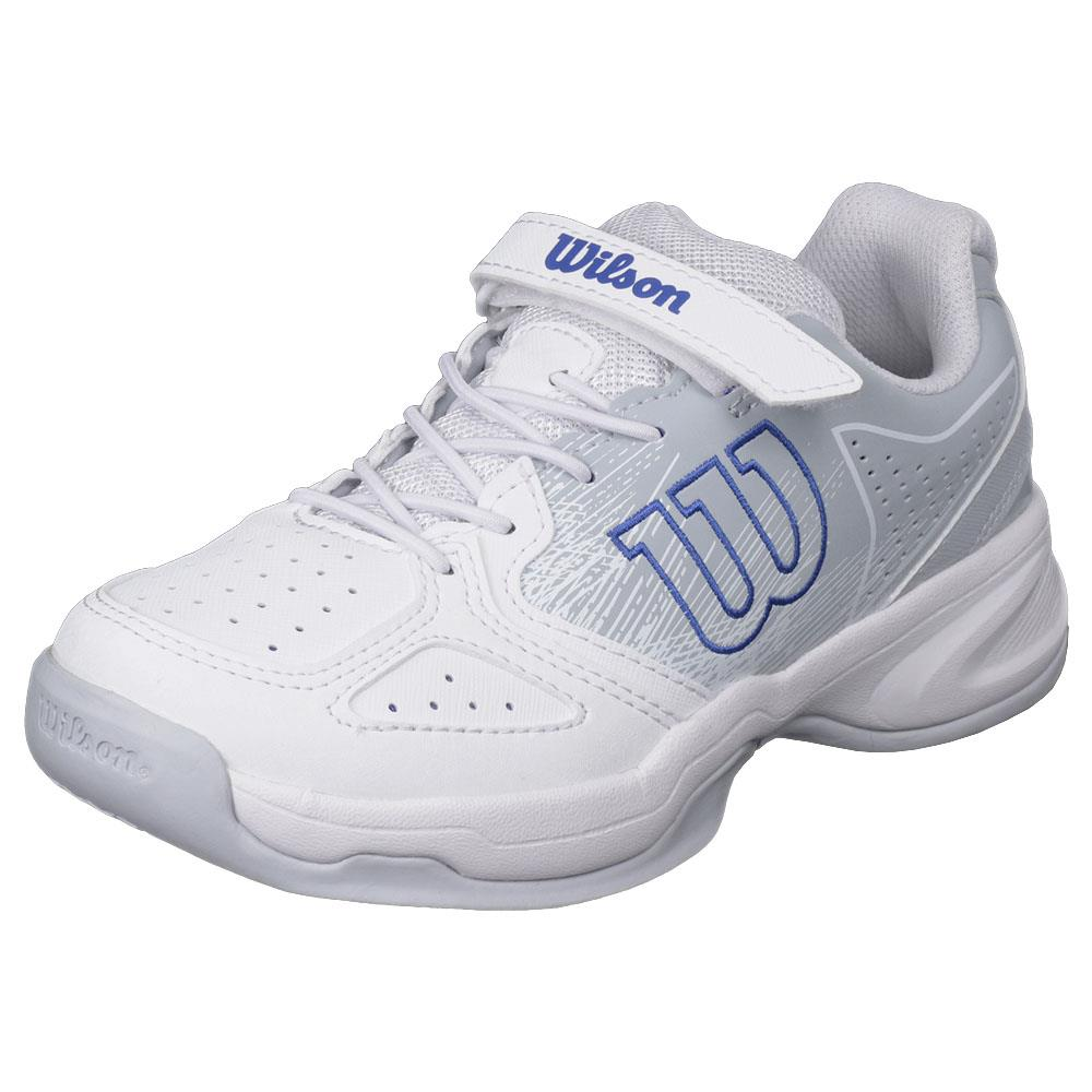 Wilson Junior Kaos Kid - White/Pearl Blue