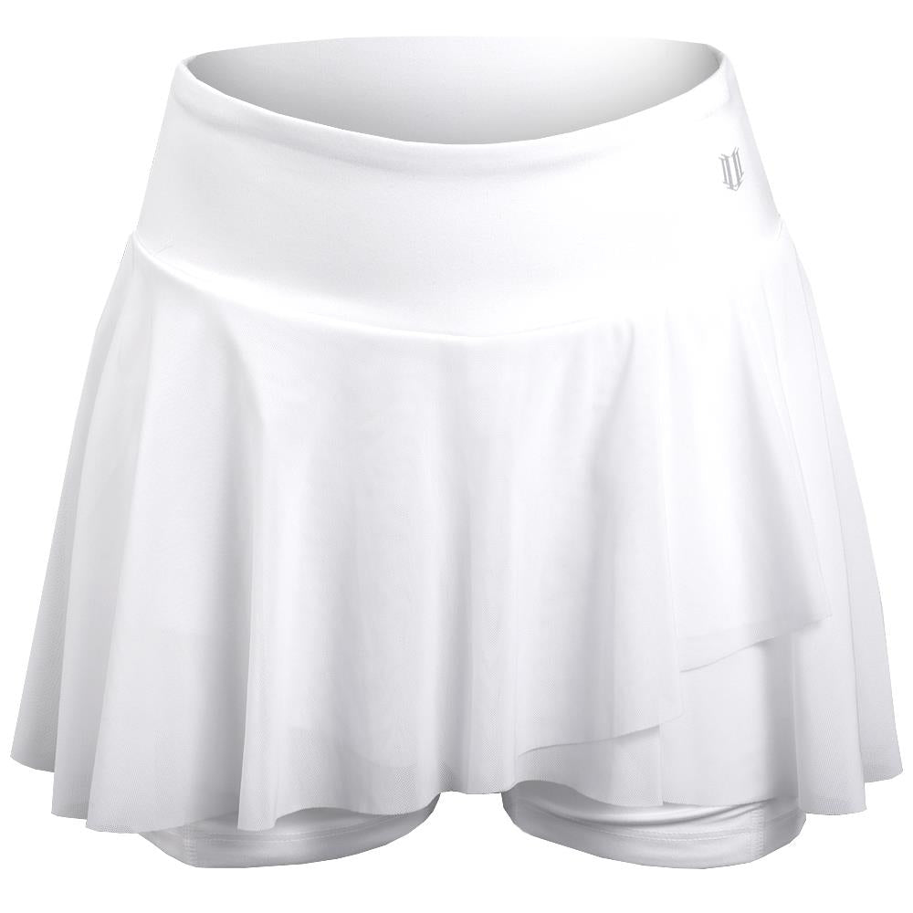 EleVen Women's Outskirt Shortie - White
