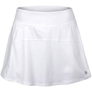 Lija Women's Spring Bloom Spin Me Round Skort - White