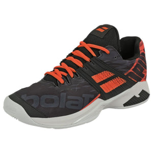 Babolat Men's Propulse Fury Clay - Black/Fluo Strike