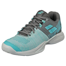 Babolat Women's Propulse Blast Clay - Grey/Blue Radiance