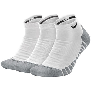 Nike Unisex Everyday Max Cushion No-Show Socks - White/Wolf Grey