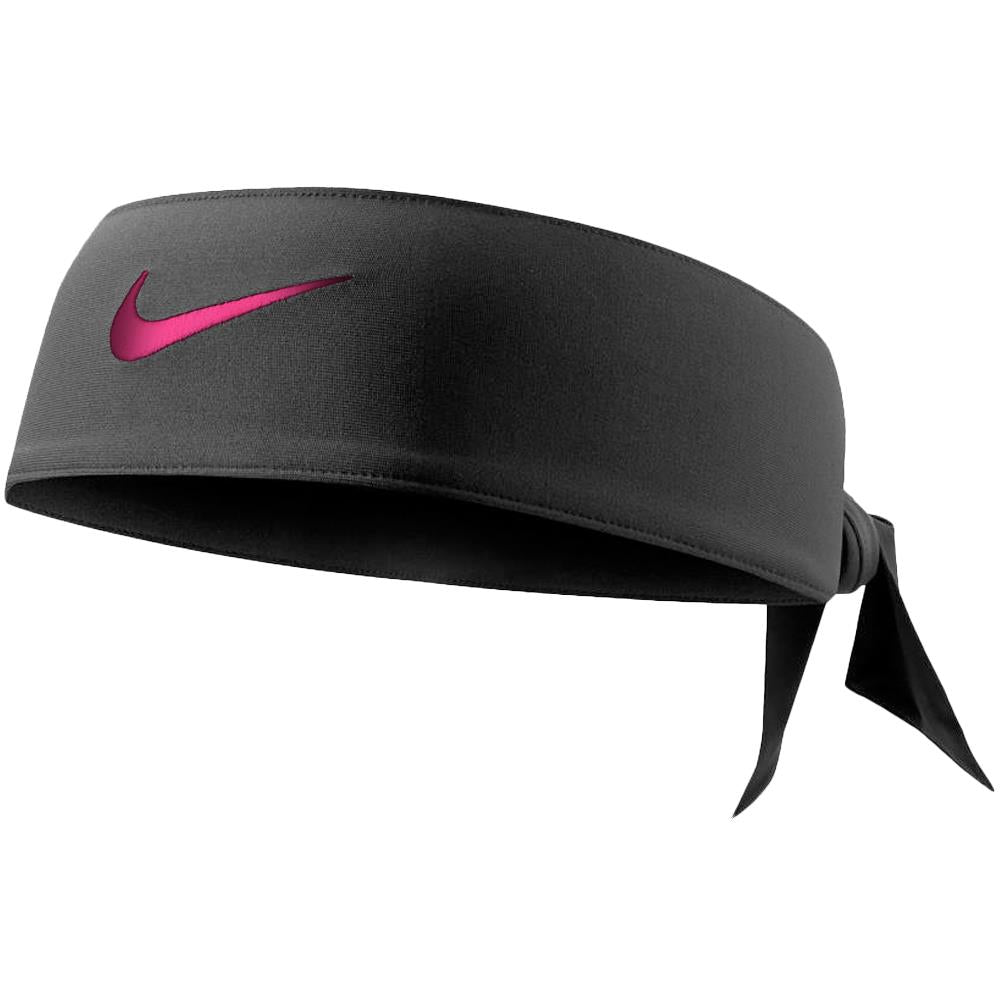 Nike Dri Fit Head Tie 2.0 - Black/Magenta