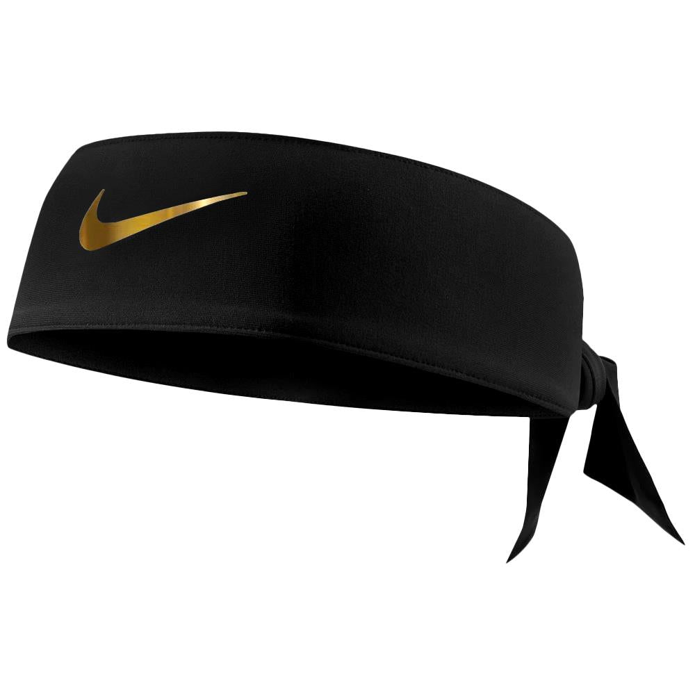 Nike Dri Fit Head Tie 2.0 - Black/Gold