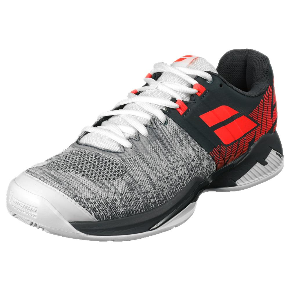 Babolat Men's Propulse Blast - Clay - Grey/Fluro Strike