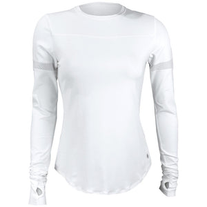 Lija Women's Essentials Pacer Longsleeve - White