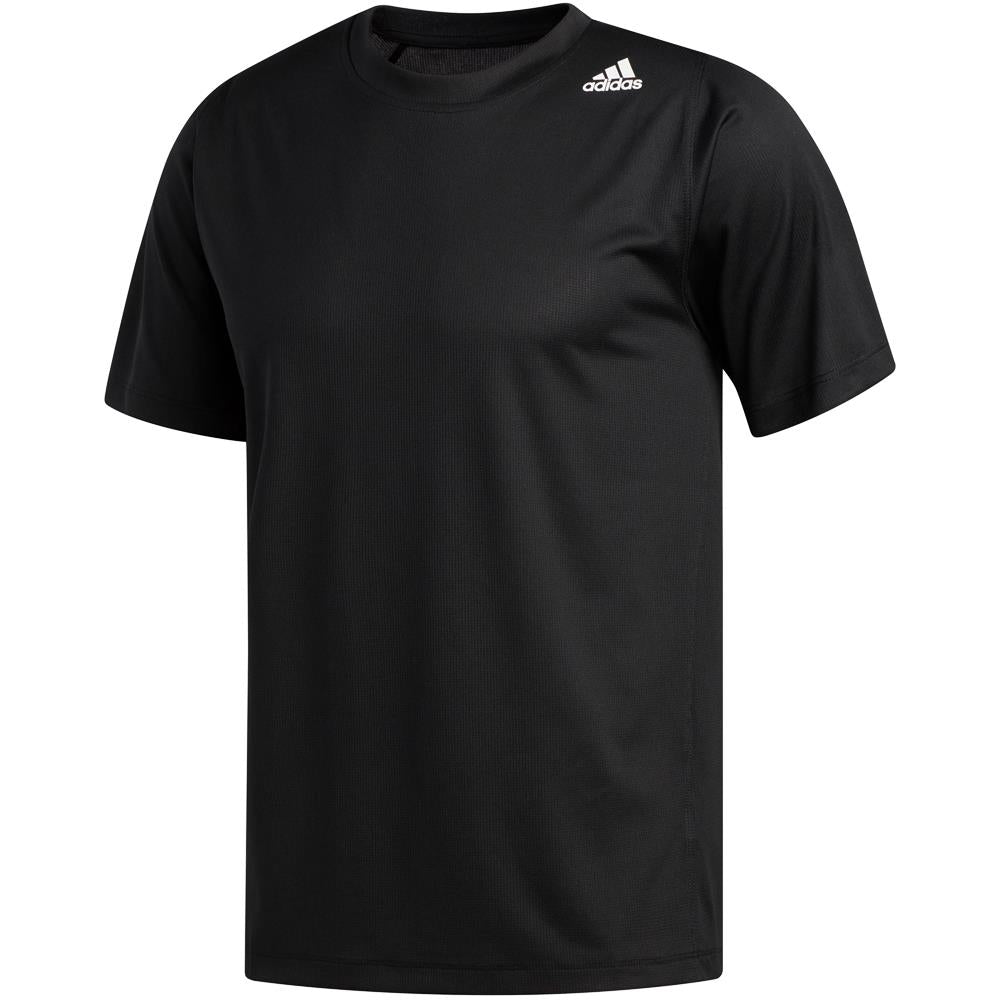 adidas Men's Freelift Sport 3 Striped Tee - Black