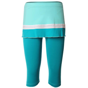 Sofibella Girls Harmonia Run Abaza Skort Capri - Air/Surf