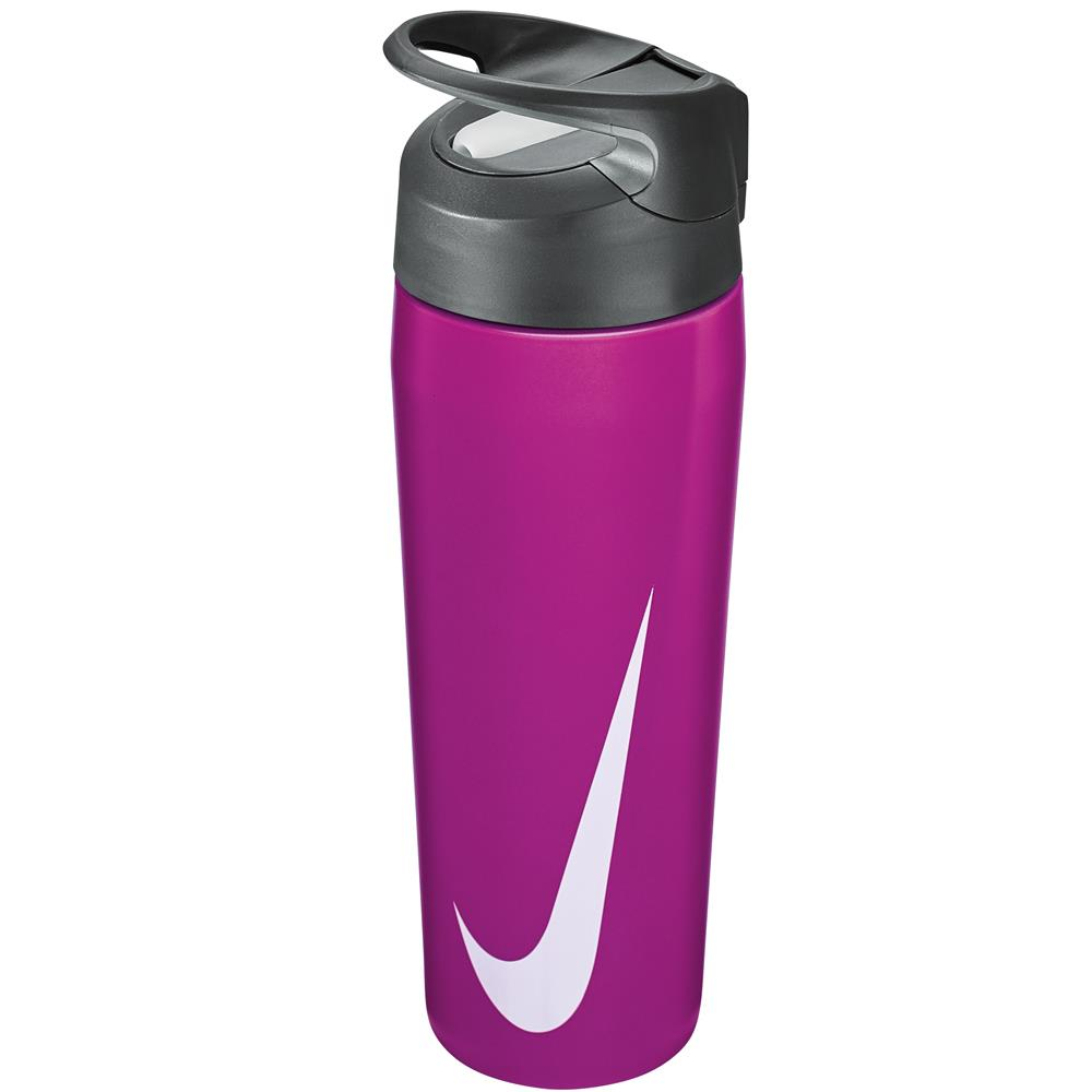 Nike Water Bottle SS Hypercharge Twist Straw 16oz - Hyper Violet