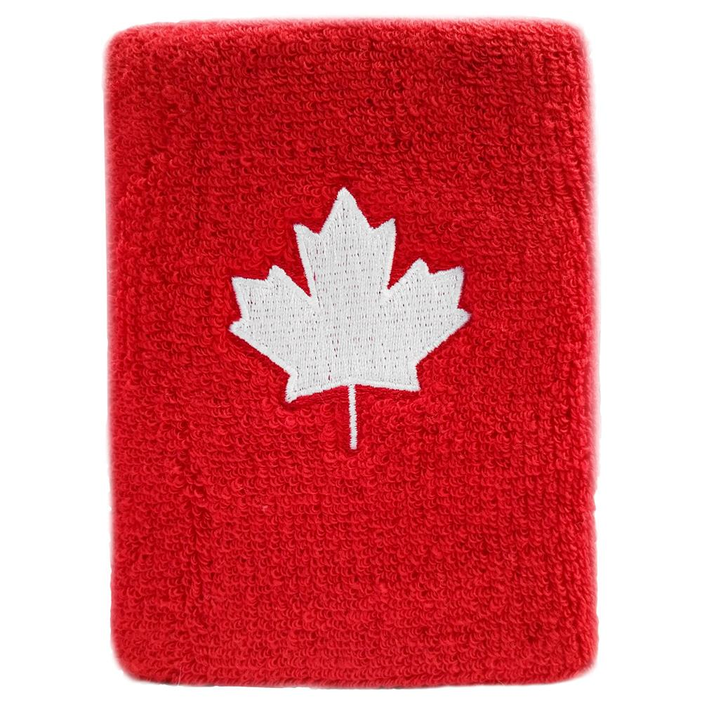 New Balance Maple Leaf Wristband - Red