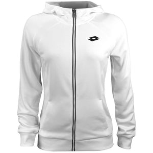 Lotto Women's Team Full Zip Hoody - White