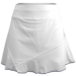 "Sofibella Women's Freya Follow 14"" Skort - White"