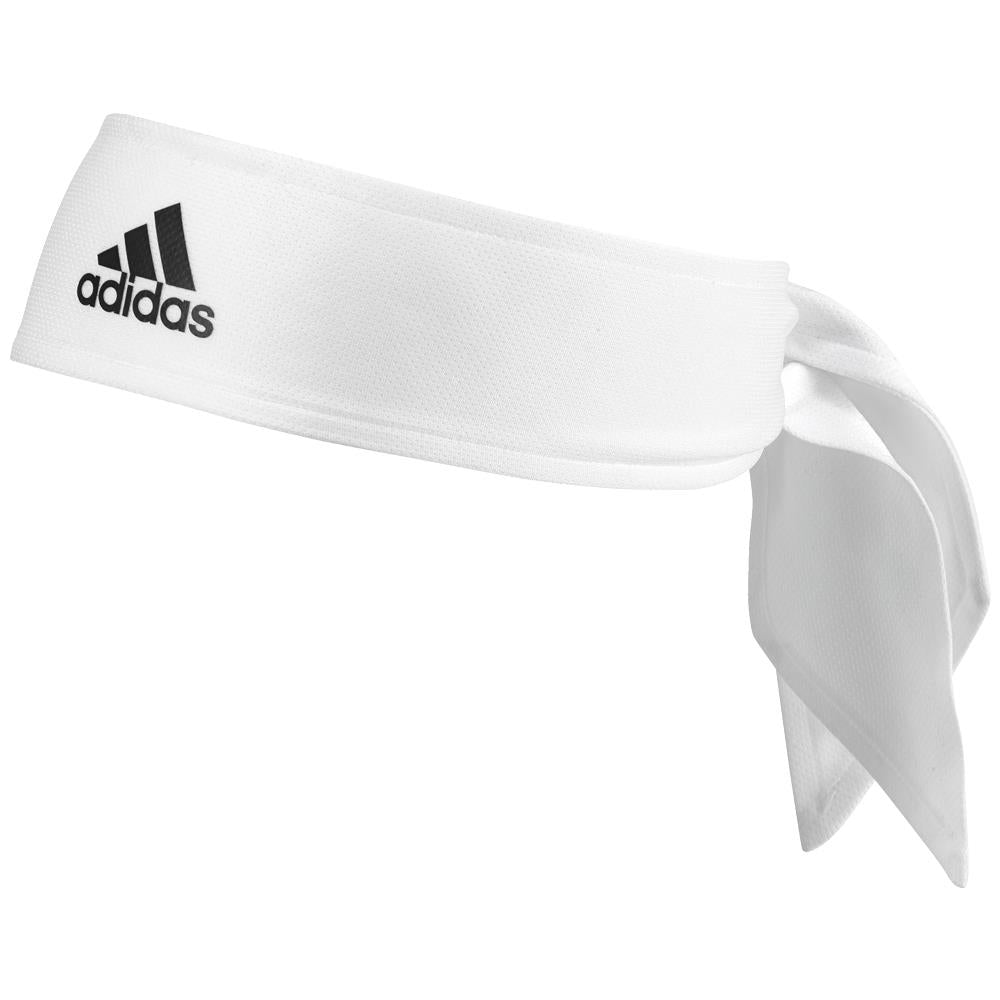 Adidas Tennis Tie Headband - White
