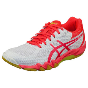 Asics Women's Gel-Blade 7 - White/Pink