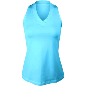 Sofibella Women's UV Colors Athletic Racerback Tank - Baby Boy