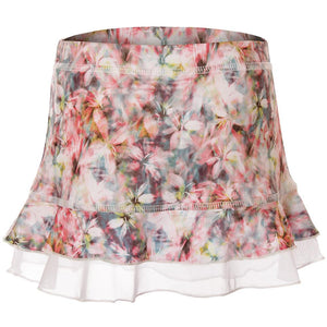 Sofibella Girls UV Colors Ruffle Skort - Blossom Print