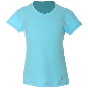 Sofibella Girls UV Colors Short Sleeve - Baby Blue