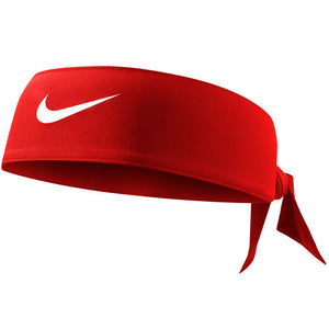 Nike Dri Fit Head Tie 3.0 - Gym Red/White