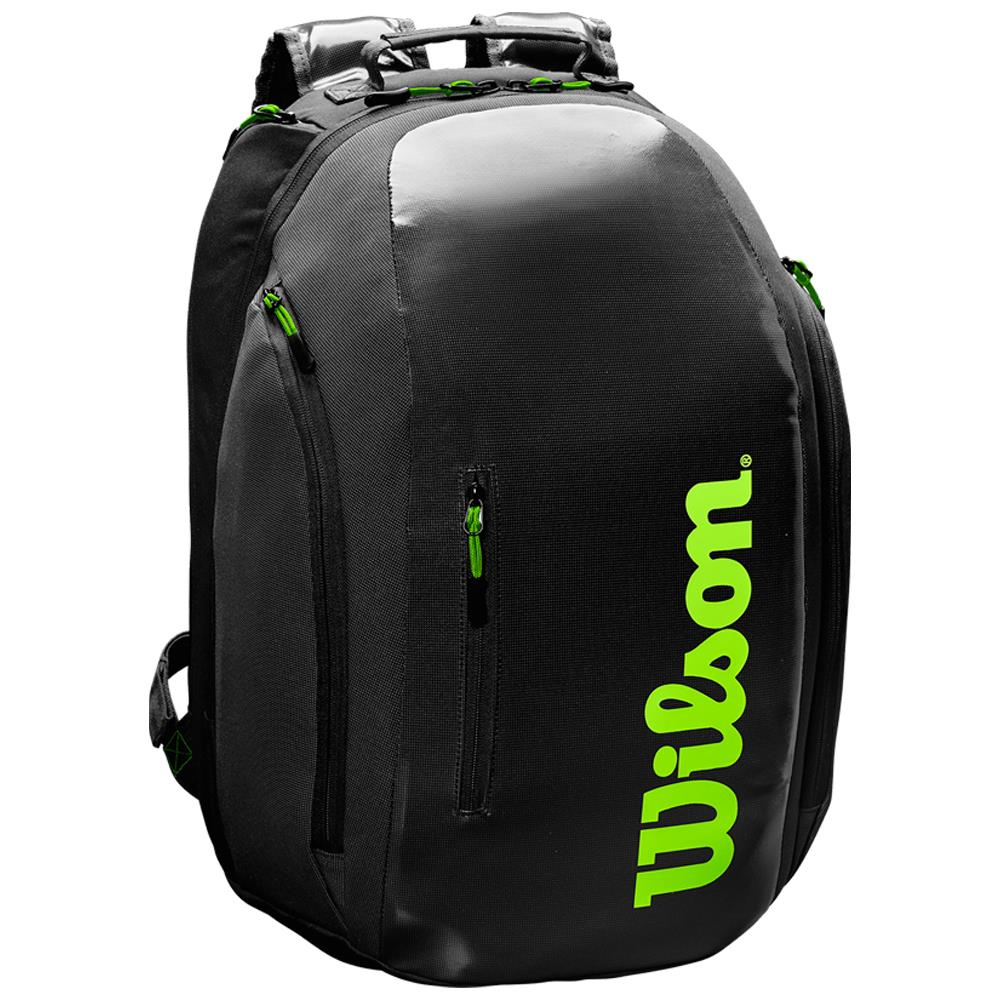 Wilson Super Tour Backpack - Black/Green
