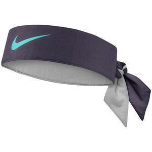 Nike Tennis Dry Tie - Gridiron/Light Aqua