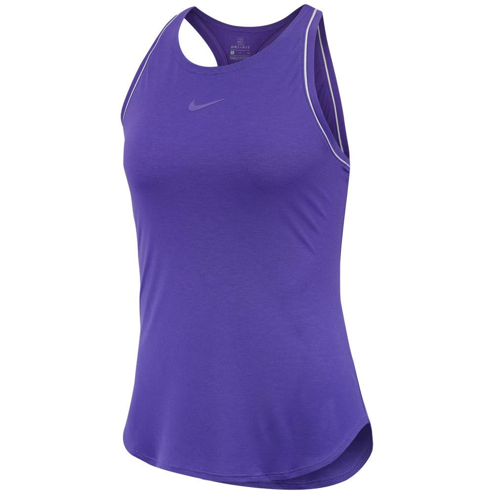 Nike Women's Court Dry Tank - Psychic Purple