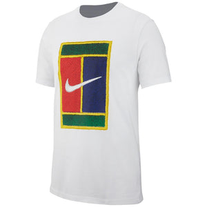 Nike Men's Heritage Court Tee - White