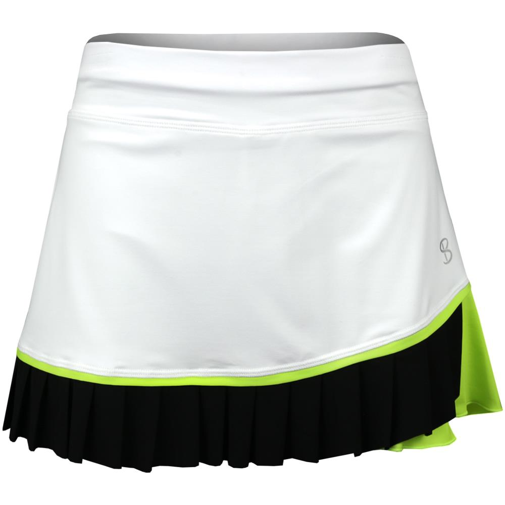 "Sofibella Women's Ravello 13"" Skort - White/Black"