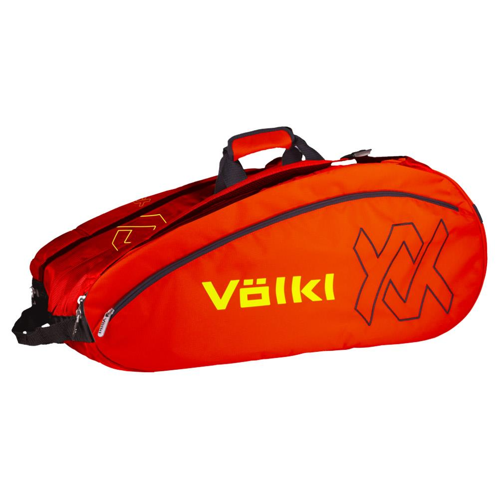 Volkl Team Mega Bag - Lava /Neon Yellow