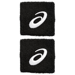 Asics Wristbands 2 Pack - Black