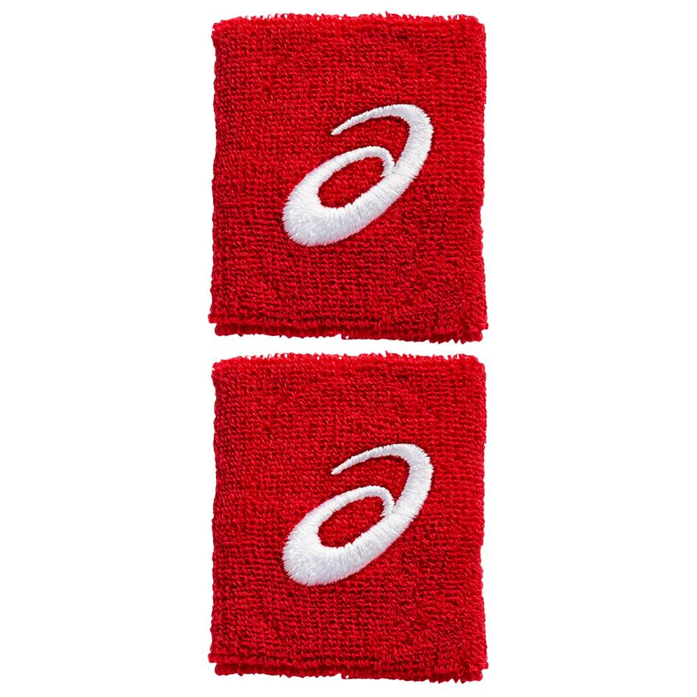 Asics Wristbands 2 Pack - Red