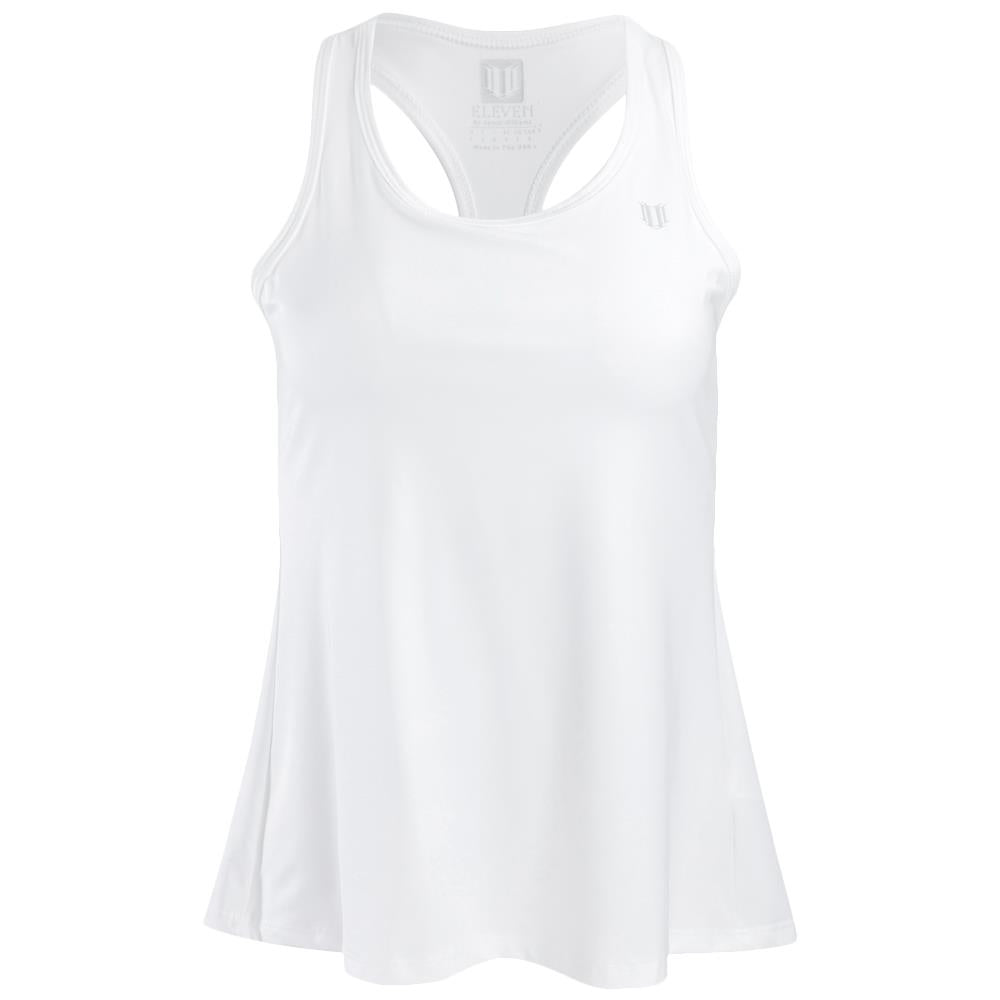 EleVen Women's Core Race Day Tank - White