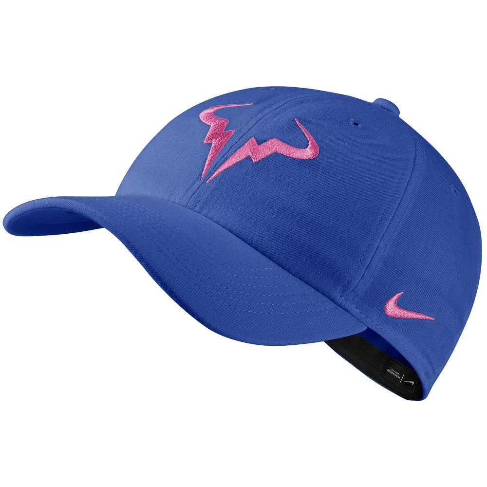 Nike Unisex H86 Rafa Hat - Game Royal/China Rose