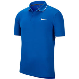 Nike Men's Team Polo - Game Royal/White