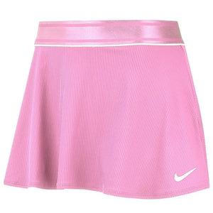 Nike Women's Court Flouncy Skirt - Pink Rise/White