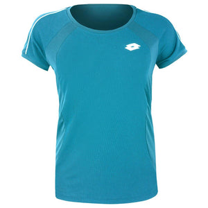 Lotto Girls Team Tee - Mosaic Blue