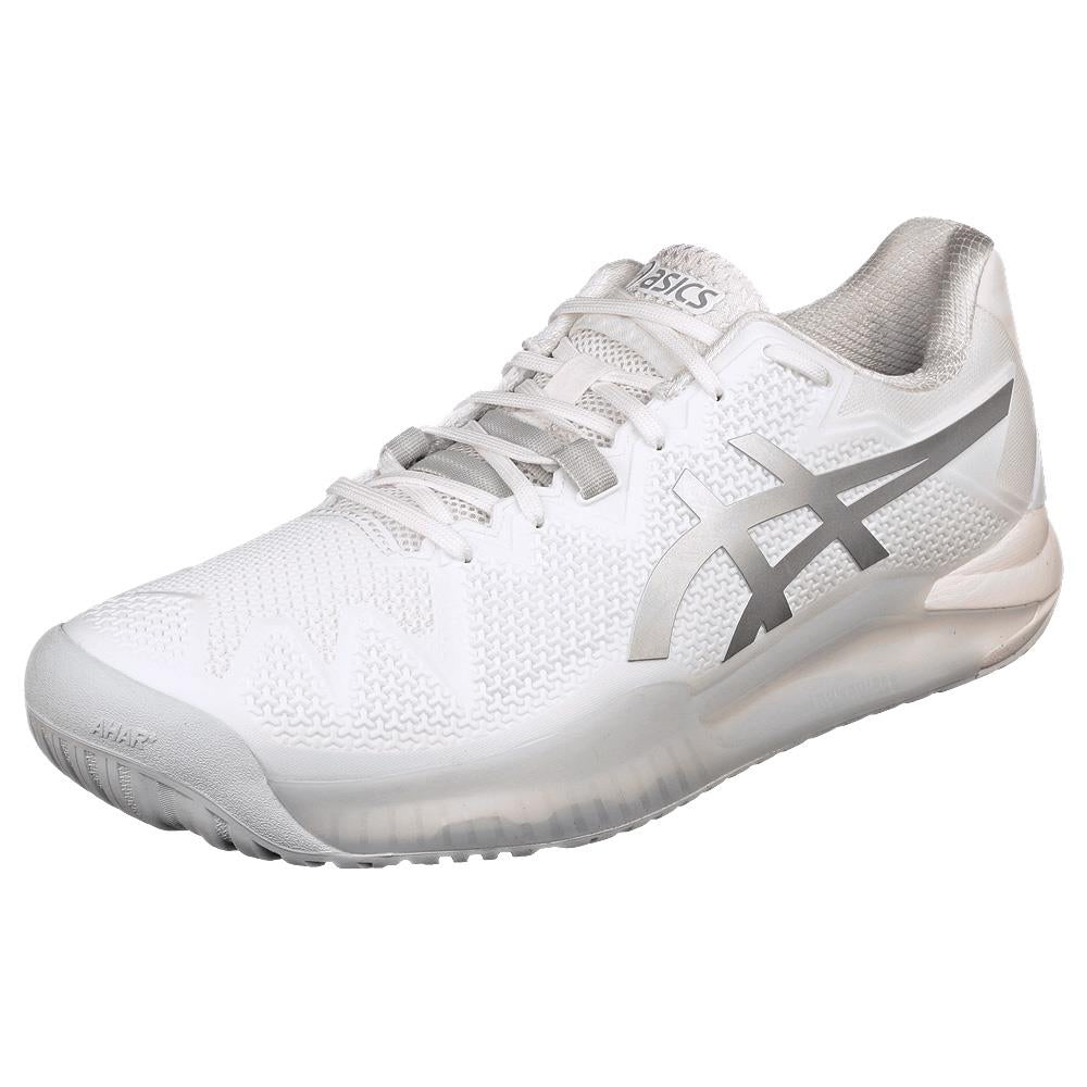 Asics Men's Gel-Resolution 8 - White/Pure Silver