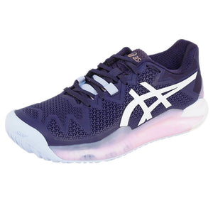 Asics Women's Gel-Resolution 8 - Peacoat/White