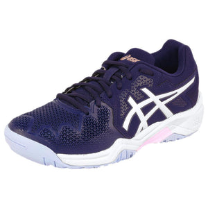 Asics Junior Gel-Resolution 8 GS - Peacoat/Cotton Candy