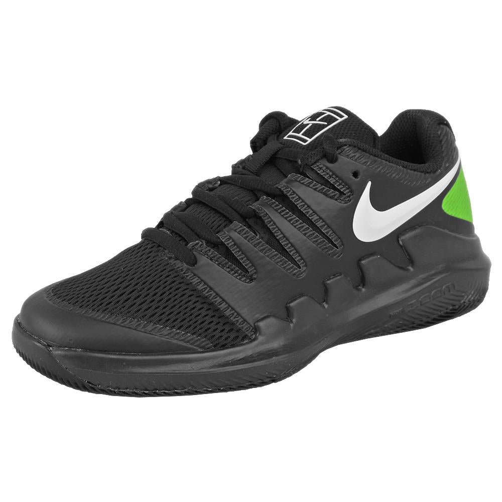 Nike Junior Air Zoom Vapor X - Black/White/Volt