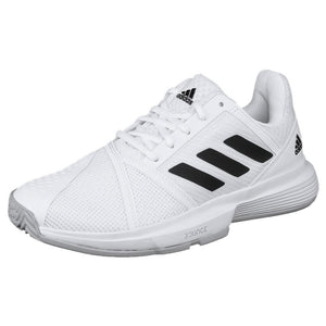 adidas Women's CourtJam Bounce - White/Black