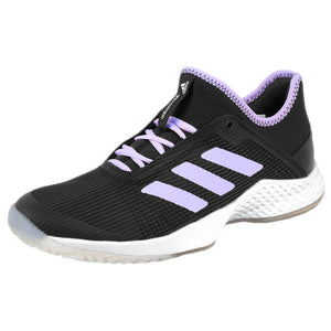 adidas Women's Adizero Club - Black/Purple Tint