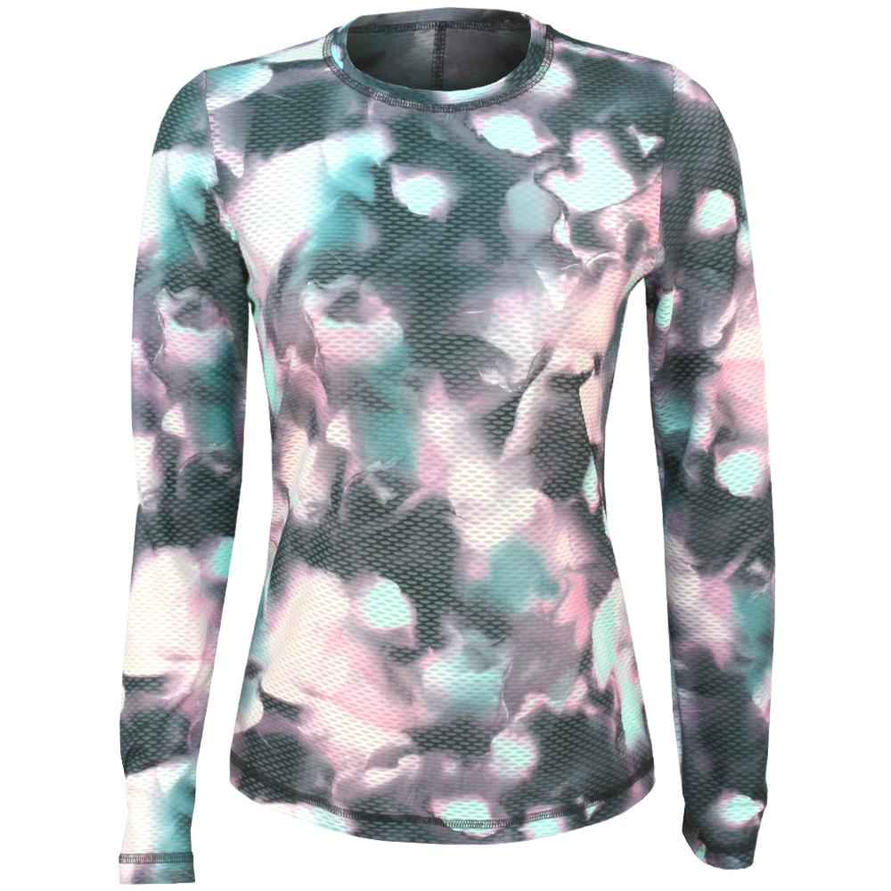 Sofibella Women's Air Flow Longsleeve Top - Abby Print