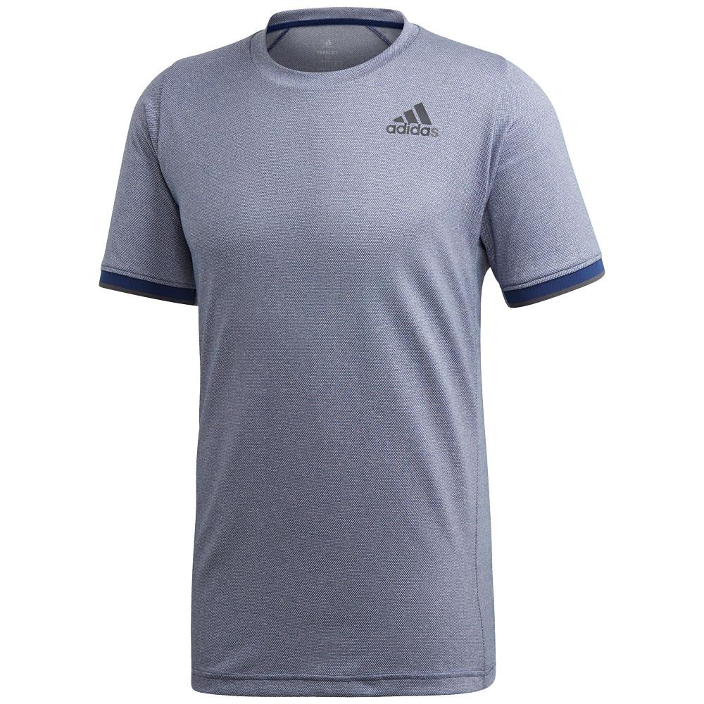 adidas Men's GameSet Freelift Tee - Tech Indigo