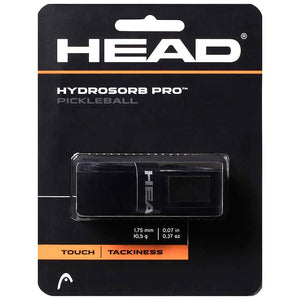 Head Hydrosorb Pro Pickleball Replacement Grip - Black