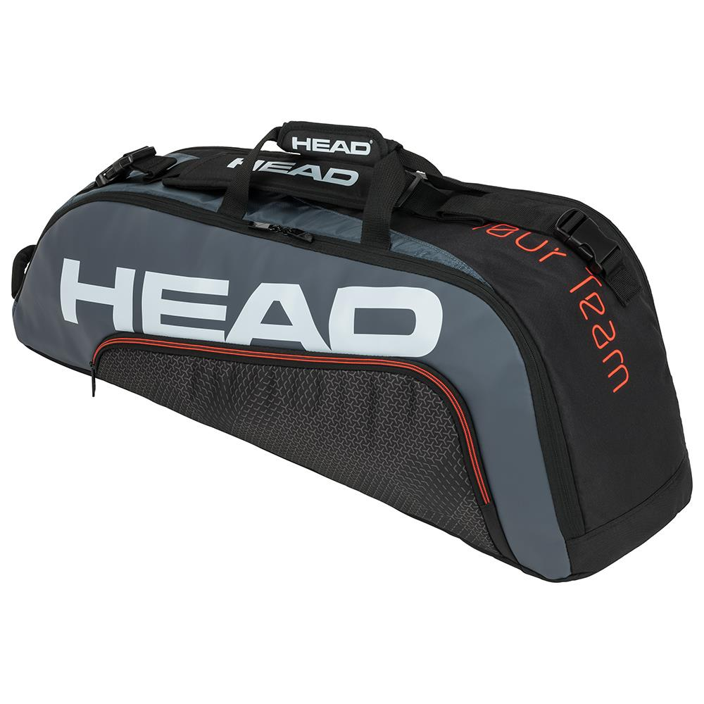 Head Tour Team Combi 6 Pack - Black/Grey