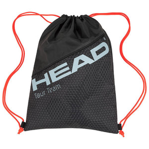 Head Tour Team Shoe Sack - Black/Grey