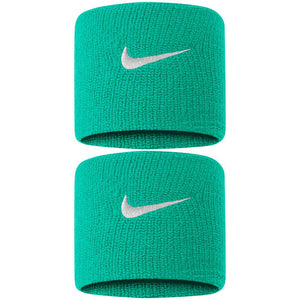 Nike Swoosh Premier DriFit Wristbands - Kinetic Green/White