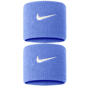Nike Swoosh Premier DriFit Wristbands - Royal Pulse/White