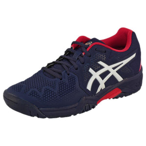 Asics Junior Gel-Resolution 8 GS - Peacoat/Red