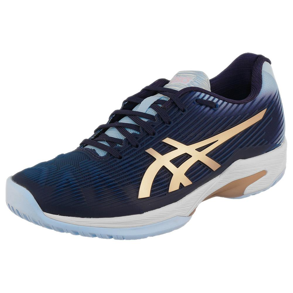 Asics Women's Solution Speed FF - Peacoat/Rose Gold